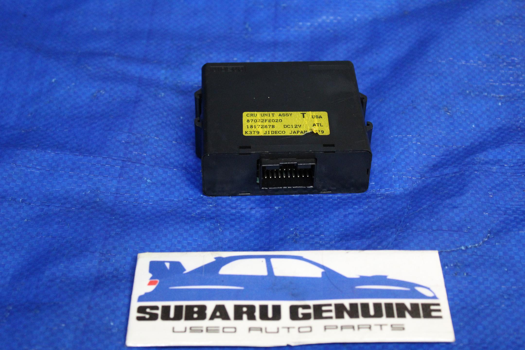 2002-2004 Subaru Impreza WRX Steering Wheel Assembly W// Cruise Control OEM 02-04