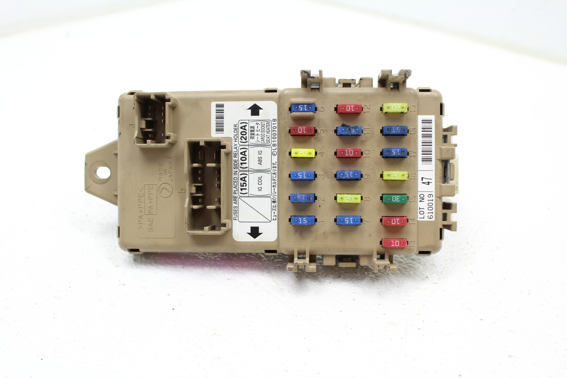 [DIAGRAM_5NL]  2006-2007 SUBARU IMPREZA WRX STI FUSE BOX JUNCTION PANEL OEM –  SubieAutoParts.com | 2007 Subaru Wrx Fuse Box |  | SubieAutoParts.com