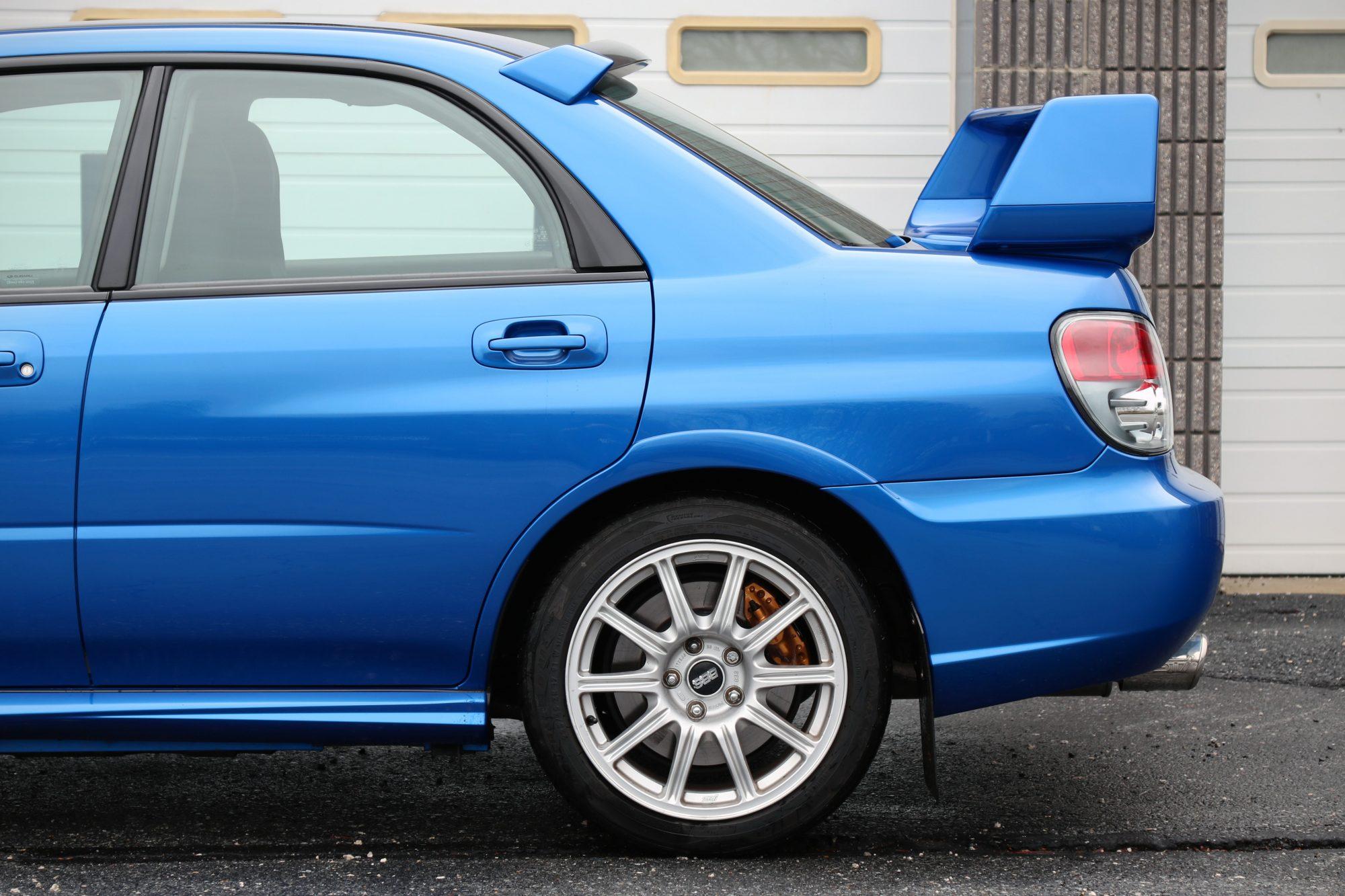 2005 2007 Subaru Wrx Sti Rear Lh Quarter Panel Fender Flare Driver Side Oem Fhi Painted Subieautoparts Com
