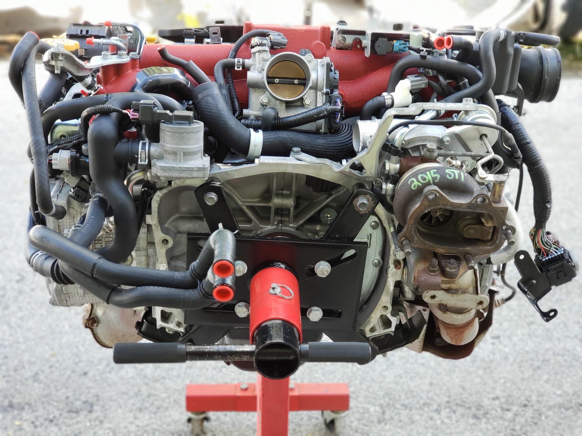 2008-2018 subaru wrx sti engine motor long block & vf48
